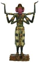 Japan's National Treasure - Asura (Replica) - Bronze Statue with Lacquer... - $1,927.53
