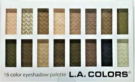 L.A. Colors 16 Color Eye-shadow Palette, #74201 Sweet - $10.69