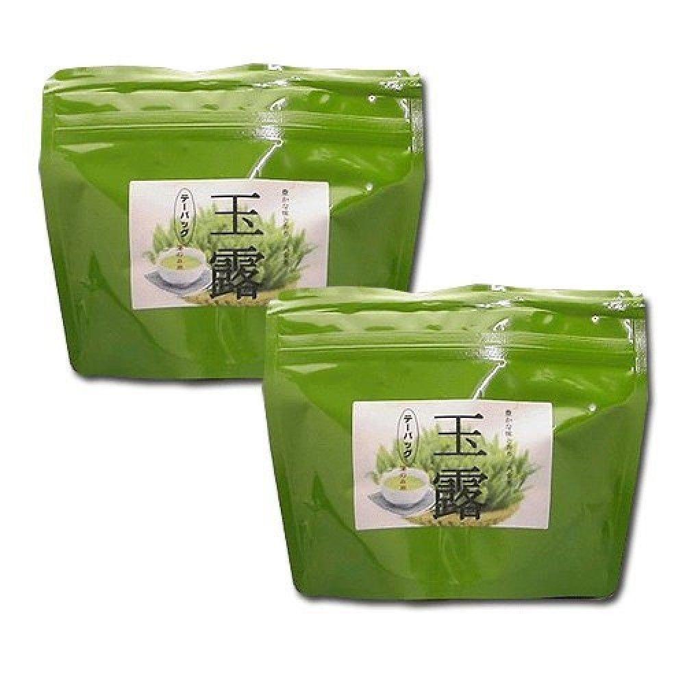 Japanese green tea High quality All Gyokuro Yame 八女 25 tea bags set of 2 - $35.17