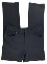 BANDOLINO Women's Mandie Slim Skinny Fit Black Stretch Pant SZ 10 Rayon ... - $24.74