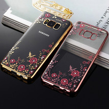 Soft Flower case For Samsung Galaxy J1 J3 J5 J7 A3 A5 A7 Prime 2016 S6 S... - $14.95