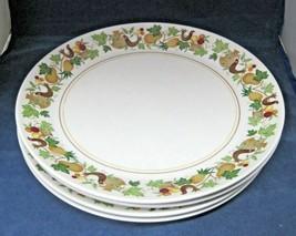 "Noritake Homecoming 9002 1966 - 1979 4 Dinner Plates 10 3/8"" Surface Wear  - $44.55"