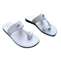 Leather Sandals for Men and Women EMPIRE by SANDALIM Biblical Greek Summ... - $39.83 CAD+