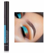 The Body Shop Eye Shadow Colour Stick Sydney Topaz Metallic Bright Blue NEW - $8.71