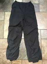 Boys Rawik Black Snow/Ski Pants Sz L Inseam Inseam 27 Euc SP - $19.79