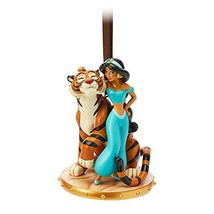 Disney Jasmine and Rajah Sketchbook Ornament - Aladdin - $49.39