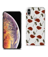 Reiko Apple Iphone Xs Max Design Air Cushion Case With Rose In Black - $8.10