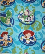 Buzz Lightyear and Gang Character Fleece One Yard Hundred Percent Polyester - $18.98