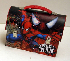 The Amazing Spider-Man Workmans Carry All Tin Tote Lunchboxes Series 2 S... - $10.65