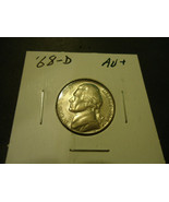 1968-D JEFFERSON NICKEL COIN    ****    >> S & H + C/S  - $1.98