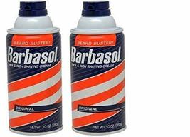 Barbasol Thick and Rich Shaving Cream, Original 10 oz Pack of 2 image 7