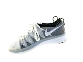 Nike FlyKnit Lunar 2 Women's Size 9.5 EUR 41 Gray Athletic Run Shoes - $28.21