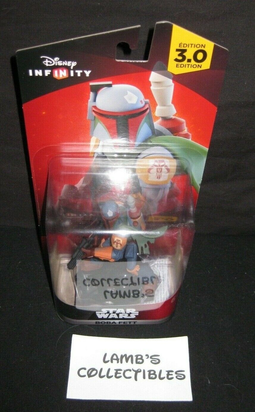 Primary image for Disney Infinity 3.0 Star Wars action figure Boba Fett Bounty Hunter accessory