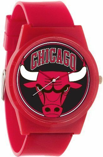 Flud Pantone NBA Red Chicago Bulls Watch Basketball CHI Official License 23