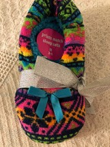 Girls Justice Slippers Multi Colored M 3-6 - $12.00
