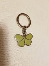 Coach Butterfly Purse Charm Green Enamel Charm Key Ring Key Fob EUC - $39.59