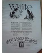 Vintage Howard Bond Paper Print Magazine Ad 1930 - $12.99
