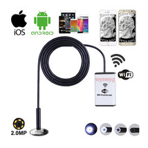 Wireless HD 720P Waterproof Smart WIFI Camera Snake Inspection Endoscope... - $31.04
