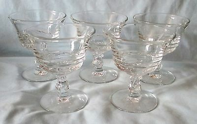 Primary image for Fostoria Century Sherbets Set of 5