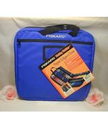 New Fiskars Hobby Holder Paper Edgers Scissors Tote Scrap Booking Suppli... - $26.99