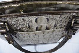 NWT Brahmin Medium Asher Leather Tote/Shoulder Bag Barley Bronte - Beige Brown image 10
