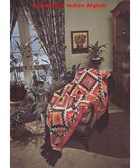 Knit Crochet Cross Stitch Spanish Native Nautical Snowflake Afghan Pattern - $9.99