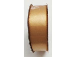 "Hobby Lobby Ribbon Boutique Double Face Satin Ribbon, Golden 5/8"" x 15 Ft"