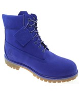 """TIMBERLAND A1P5U """"LIMITED RELEASE"""" MEN'S 6"""" PREMIUM VIOLET WATERPROOF BOOTS - $139.99"""