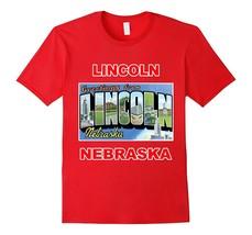 Lotta Shirts: Lincoln Nebraska Postcard Greetings T-Shirt Men - $17.95+