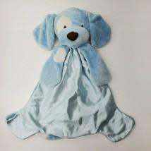 Gund Baby Spunky Blue Dog Blanket Huggybuddy Blue 058967 - $19.34