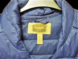 Foundry Men's Lightweight Puffer Jacket, Nav, Size 3XL image 3