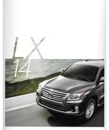 2014 Lexus LX 570 sales brochure catalog 14 US Land Cruiser - $10.00