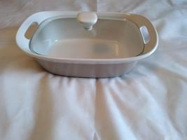 * Corningware Etch 2.5 Qt. Stoneware Casserole w/ Lid + Handles* - $27.77