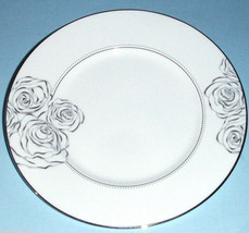"""Monique Lhuillier Waterford SUNDAY ROSE Accent Luncheon Plate 9"""" New - $58.90"""
