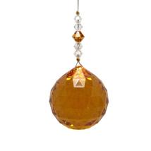 J'Leen 30mm Amber Bell Pendulum image 1
