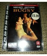 BUGSY DVD Warren Beatty Annette Bening Widescreen 2 PAL UK - $7.12