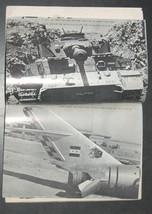 1967 6 Days War Atlas Paperback Weapon Illustrated Photo Hebrew Israel Vintage image 7