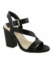 TOP MODA, Black Manner Sandal - $21.00