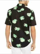 Alfani Men's Printed Abstract Classic Fit Stretch Button-Down Top MEDIUM NEW W/T image 2