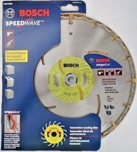 "Bosch DBSW961 Speedwave 9"" Segmented Diamond Blade Switzerland - $44.55"