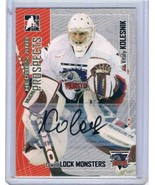 2005-06 ITG Heroes and Prospects Autographs Series II #VK Vitaly Kolesni... - $17.77