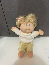 Rare Talking Moving Interactive Cabbage Patch Doll Blonde Pigtails OAA outfit - $24.70