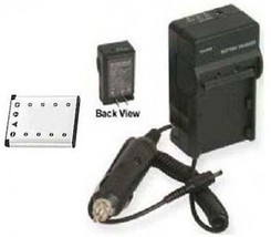 Battery + Charger for Casio EX-Z280 EX-Z33BK EX-Z33BE EX-ZS5EO EX-G1 EX-... - $25.12