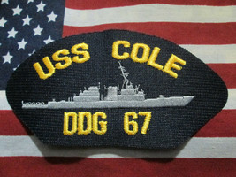 US Navy USS Cole DDG 67 Pocket Patch - $6.00