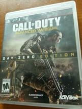 Call of Duty: Advanced Warfare Day Zero Edition Ps3 (Sony PlayStation 3, 2014)   - $7.25