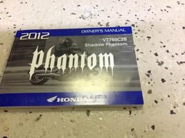 2012 Honda VT750C2B Shadow Phantom Motorcycle Owners Manual Oem Factory New X - $64.37