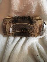 Auth Bottega Veneta Karung Snakeskin Leather Bag - $290.00