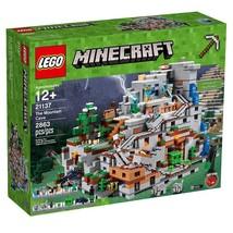 LEGO Ninjago Minecraft The Mountain Cave 21137 - $440.22