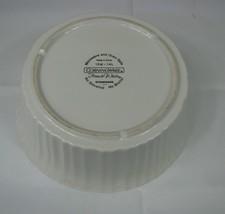 Corning Ware French White 1.4 L Round Casserole Dish w PLASTIC Cover 1.5 Qt - $11.87