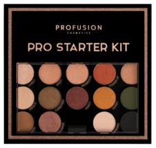 Profusion Cosmetics - Pro Starter Kit - Makeup Artist Kit Eyeshadows Lip Shades image 2